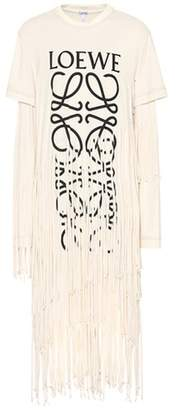 Loewe Cotton and silk dress