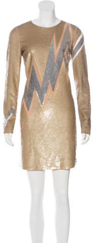 Emilio Pucci Emilio Pucci Sequin Mini Dress w/ Tags