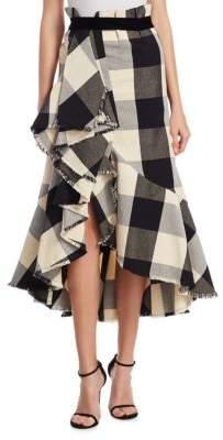 Johanna Ortiz Bosque Tartan Plaid Skirt