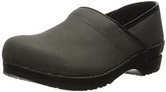 Sanita Women's Professional Oil Closed Leather Clog -