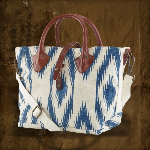Denim & Supply Ralph Lauren Printed Canvas Shoulder Bag