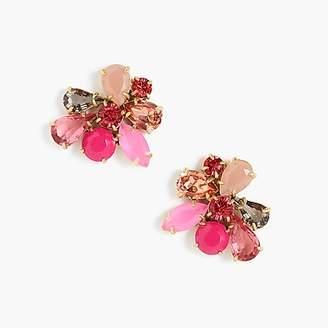 J.Crew Crystal cluster earrings