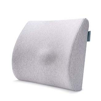 Recci Ergonomic Lumbar Pillow - 100% Pure Memory Foam Back Cushion