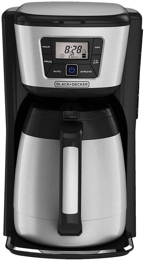 Black & Decker Thermal Programmable 12-Cup Coffee Maker & Mug