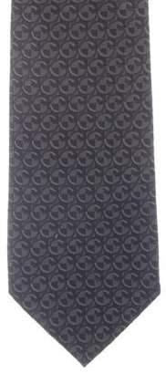 Gucci Abstract Logo Silk Tie