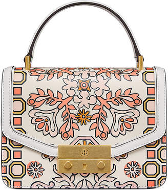 Tory Burch Juliette Printed Mini Top Handle Satche