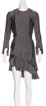 IRO Ruffled Asymmetrical Dress w/ Tags