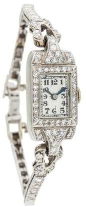 Movado 14K Diamond Watch