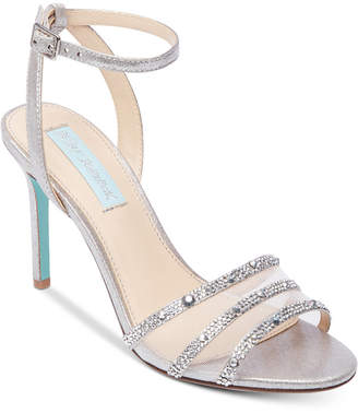 Betsey Johnson Blue By Veda Evening Sandals Women's Shoes