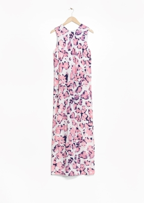 Other Stories V-Back Maxi Dress