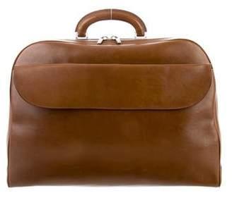 Valextra Smooth Leather Satchel