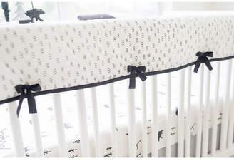 My Baby Sam Little Black Bear Crib Rail Cover