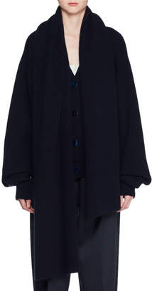 The Row Scarletta Button-Front Cashmere Cardigan