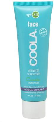 Coola R) Suncare Cucumber Face Mineral Sunscreen SPF 30