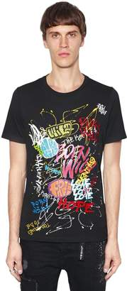 The Kooples Orlisnki Co-Lab Printed Jersey T-Shirt