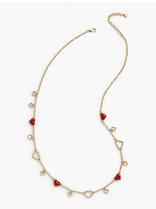 Talbots Heart Layer Necklace