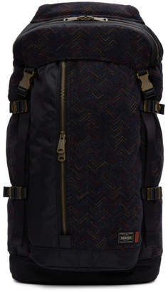 Missoni Navy Porter Edition Flap Backpack