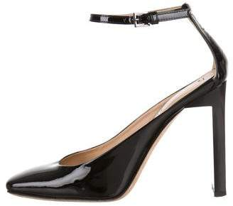 Reed Krakoff Patent Leather Ankle-Strap Pumps