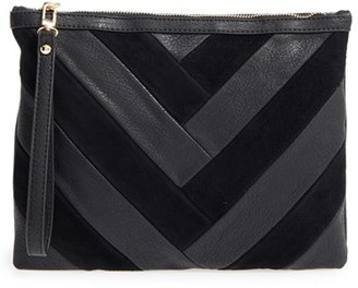 Sole Society Shery Zip Pouch - Black $49.95 thestylecure.com