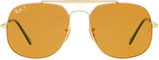 Ray-Ban The General Men's Polarized Aviator Sunglasses