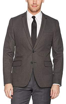 Calvin Klein Men's Infinite Tech Heather Suit Jacket