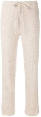 Sonia Rykiel side stripe track pants