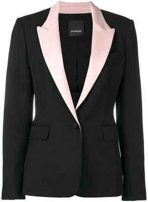 Pinko peaked lapels blazer
