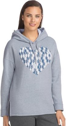 Hanes Women's Fleece Graphic Hoodie