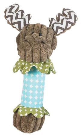 Mud Pie Forest Animal Rattles, Moose