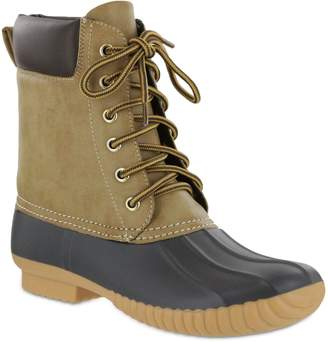 Mia Lace-Up Duck Boots - Matthew