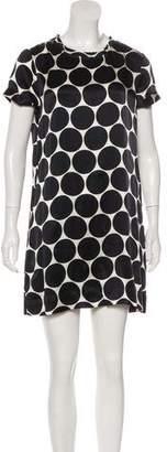 Nili Lotan Silk Printed Dress