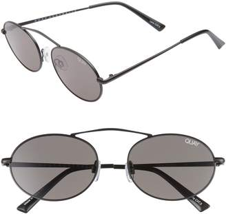 Quay x Finders Keepers Final Stand 53mm Round Sunglasses