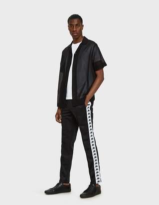Kappa Banda Astoria Slim Pant in Black/White