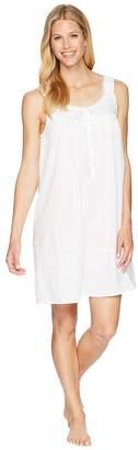 Eileen West Clip Dot Short Chemise Women's Pajama