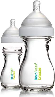 Born Free Breeze 5 oz. Glass Bottle, 2-Pack