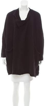eskandar Merino Wool Oversize Cardigan