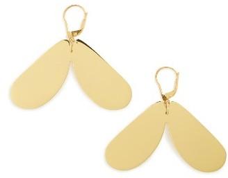 Women's Ellery Mayhem Small Petal Earrings $290 thestylecure.com