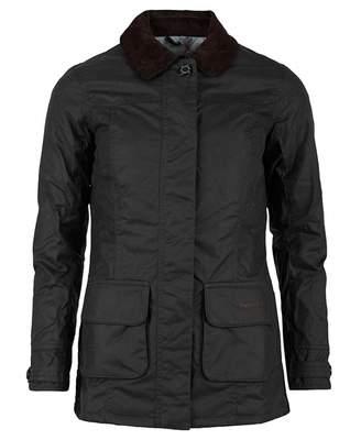 Barbour Tartan Balintore Wax Cord Collar Jacket