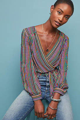 Maeve Lisa Striped Blouse