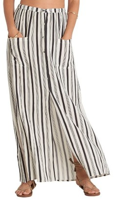 Women's Billabong Honey Stripe Maxi Skirt $49.95 thestylecure.com