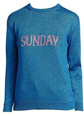 Alberta Ferretti Rainbow Week Capsule Days Of The Week Sunday Sweater