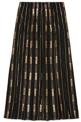 Gucci (グッチ) - グッチ ランバス シルク スカート