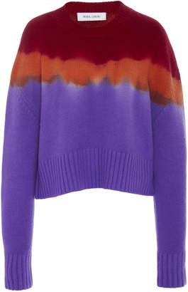 Prabal Gurung Tie-Dye Cashmere Sweater
