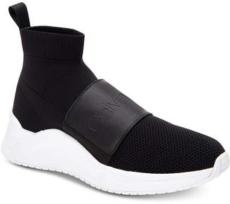 Calvin Klein Uni Stretch Knit Sneakers Women Shoes