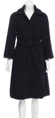 Dries Van Noten Belted Wool Coat
