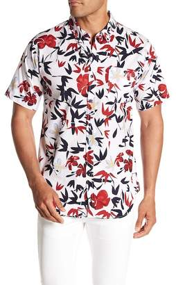 Ezekiel Tropicool Short Sleeve Woven Regular Fit Shirt