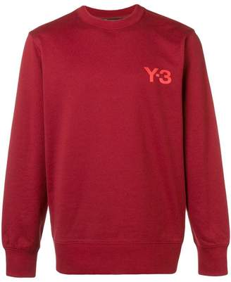 Y-3 CL crew neck sweatshirt