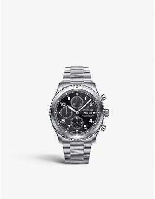 Breitling A13314101B1A1 Navitimer 8 Chronograph steel watch