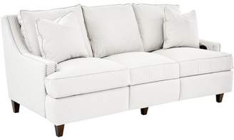 Wayfair Custom Upholstery Tricia Power Hybrid Reclining Sofa