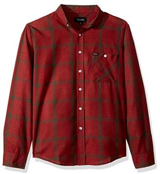Brixton Men's Howl Standard FIT Long Sleeve Woven Shirt